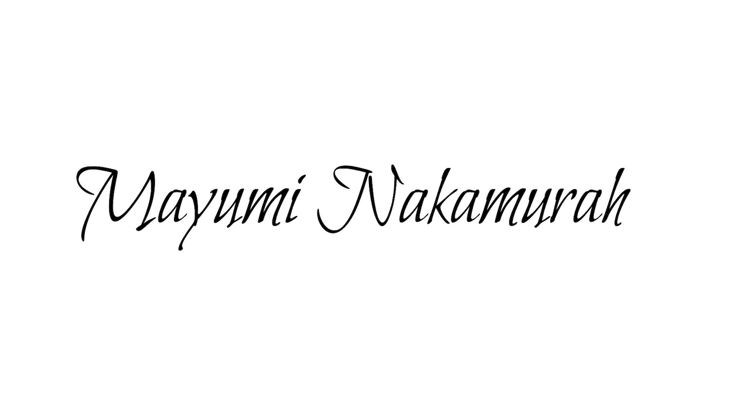 Mayumi Nakamurah - makeup, style, fashion, travel, food, I share my story here…