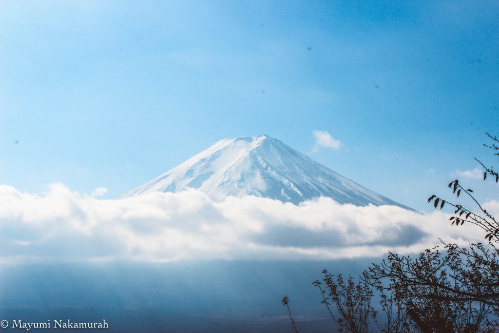 Hello Mt. Fuji